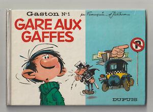 GASTON N°1 / GARE AUX GAFFES / FRANQUIN / DUPUIS / EO 1966 / TBE