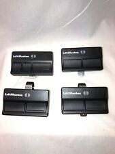 lot of 4 - 372Lm LiftMaster Garage Remotes