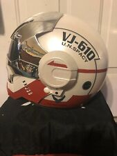 Masei 610 RED WHITE &chromeVADER Motorcycle Bike Chopper Poster Coin Icon Helmet