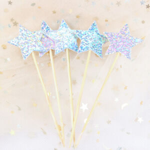 Cake Topper Cupcake Toppers For Kids Birthday Party Cake Decorations Baby Shower