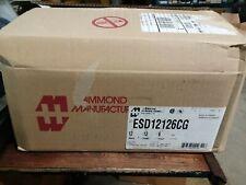 """ESD12126CG Hammond Enclosure 12"""" x 12"""" x 6"""" Nema 12 - 60 day warranty"""