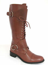 Women's Knee High Boots without Pattern