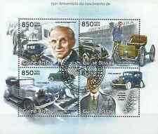 Timbres Voitures Ford Guinée Bissau 4735/8 o année 2013 lot 13960 - cote : 18 €