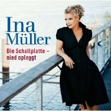 "INA MÜLLER ""DIE SCHALLPLATTE NIED OPLEGGT"" CD NEU"