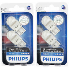 Two Philips Vision LED Red Light Bulb 7443LED for 7443 LED W21/5W Exterior lb