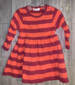 Girls Age 3-6 Months - Long Sleeved Dress From Next