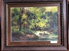 """/""""11th at Augusta/"""" Tom Lynch Limited Edition Watercolor Print"""