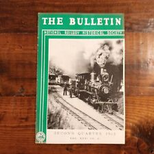 1952 Railway History Magazine Narrow Guage + Milwaukee Road Hudsons