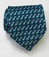 New T.M. LEWIN Silk Tie (Rabbits) - Made in England