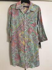 NWT Ralph Lauren M Women's Patchwork Floral Sleep Shirt Robe QFR