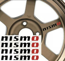 "Nismo Nissan Rim Wheel Trunk Quality Decal Sticker Vinyl 4"" (Set of Four)"
