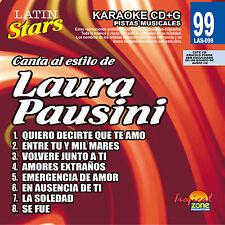 Karaoke Latin Stars 99 Laura Pausini Vol.1