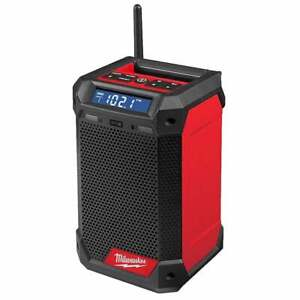 Milwaukee M12RCDAB+0 12v Cordless Dab Radio Charger Unit Only