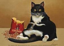 CAT ART PRINT Felini Lowell Herrero