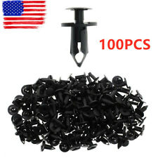 100pcs Clips Fender Bumper Rivets For  21030249 Ford N807389S Chrysler 6503598