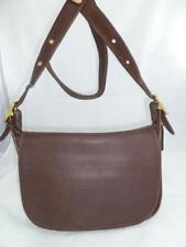 2618c645fd1e VINTAGE COACH 9951 PATRICIA S LEGACY BROWN LEATHER CROSSBODY FLAP BAG