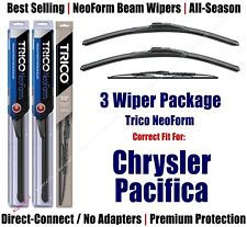 3pk Wipers Front & Rear NeoForm - fit 2004-2008 Chrysler Pacifica 16220x2/30130