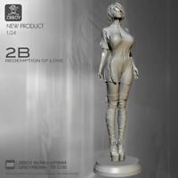 1/24 Resin Figure Girl Model Kit Cosplay Princess Warrior Unpainted Unassambled