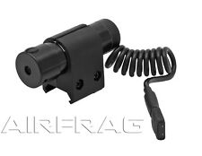 Metal Red Laser With Rail Mount And Pressure Switch for Airsoft Rifles