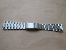 Uhrband edelstahl 16mm-23mm NOS Vintage Sixties Stainless Steel watch armband
