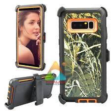 For Samsung Galaxy Note 8 Case (Clip fits Otterbox Defender) Holster Cover Y04