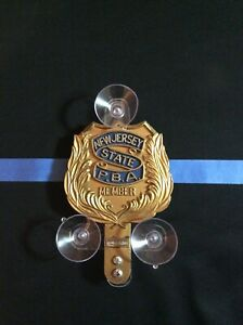 Police shield? HOLDER? for PBA FOP EMT FMBA FAM shields