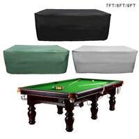 Heavy Duty Billiard 10 ft foot Pool Billiard Snooker Table Dust Proof Cover