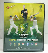 2007-08 Select Cricket Trading Card Official Album ( No Pages)