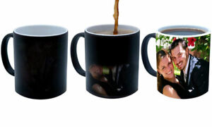 PERSONALISED COLOUR CHANGING MAGIC MUG IN YOUR STYLE (PERFECT GIFT)