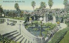 C.1910 Kimberly Crest, Redlands, Cal. Vintage Postcard P106