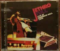 "JETHRO TULL ""LIVE AT CARNEGIE HALL 1970"" (RARE CD)"
