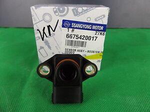 GENUINE SSANGYONG KYRON D100 EUROIV & D150 SERIES 2.0 L 2.7 L TD MAP SENSOR