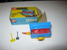 CORGI 109 pennyburn workmens Caravane Excellent Original dans good original box