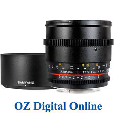 New Samyang 85mm T1.5 AS IF UMC VDSLR for Nikon 1 Yr Au Wty