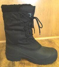 Ozark Trail Womens Sz 6? Runs Small Sz 7 Classic Pacific Winter Snow Boots Black