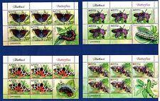 2016. Belarus. Butterflies. Sheets. MNH