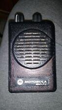 Motorola Minitor 5 V Vhf Pager 151~159 2 Channel Sv