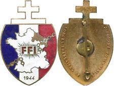 Forces Francaises de l'Intérieur, 1944, Région C, matriculé, Poinçon A.B. (0354)