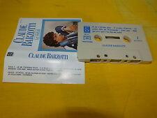 CLAUDE BARZOTTI - K7 audio / Audio tape !!! LE RITAL !!!