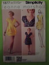 Simplicity Sewing Pattern 1877 Misses Dress Two Lengths Size 4-12 Uncut