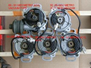 Distributors Parts For Geo Metro For Sale Ebay