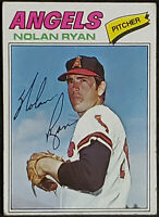 1977 Topps #650 Nolan Ryan California Angels Nice condition Ungraded