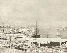 "NEWPORT BEACH Tall Ship in Newport Bay Harbor VINTAGE Photo Print 979 11"" x 14"""