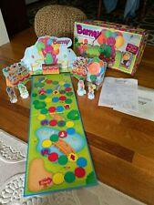 Vintage Barney Balloon Race Game Parker Bros 1993 Complete Lyons Group Original