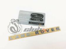 "Scale Metal ""Land Rover"" Emblem Set for Defender Body ( RC4WD, TRX-4 )"