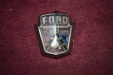 1952 Ford Customline, Mainline, Crestline Hood Emblem Good Original
