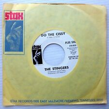 STINGERS Northern Soul VG++ / Mint minus PROMO 45 DO THE CISSY 2:48 double-A d41