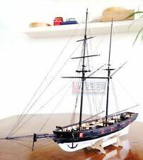 Kit HMS Halcon 1840 1:100 Kit de modelo de madera barco histórico + Mat + 1 Cuchillo de Hobby