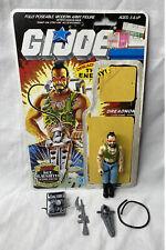 New listing Vintage 1985 G.I. Joe Ripper Dreadnok Figure Complete w/ Accessories & Cardback