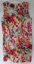 NWOT Sz 22W I.N. Studio Floral Print Dress, Machine Wash, Polyester & Spandex